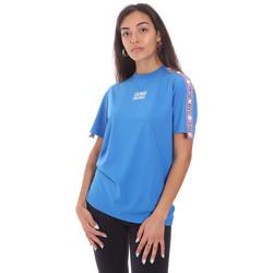textil Dam T-shirts Colmar 4103 6SH Blå