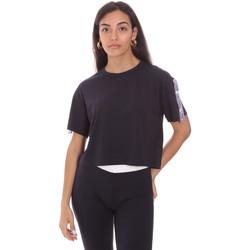 textil Dam T-shirts Colmar 8652 6SH Blå
