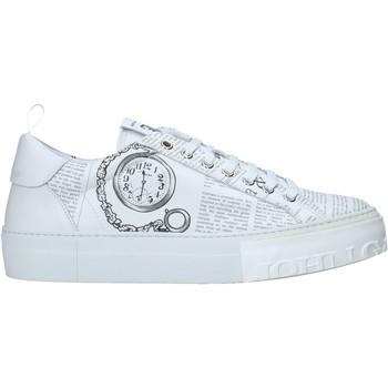 Skor Herr Sneakers John Galliano 11018/CP A Vit