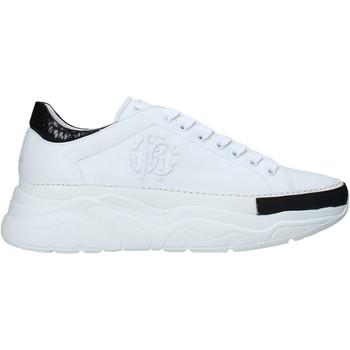 Skor Herr Sneakers Roberto Cavalli 10734 B Vit