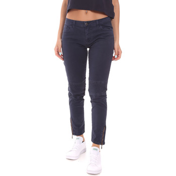 textil Dam Chinos / Carrot jeans Colmar 0642T 5QX Blå