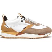 Skor Herr Sneakers Alberto Guardiani AGU101061 Vit