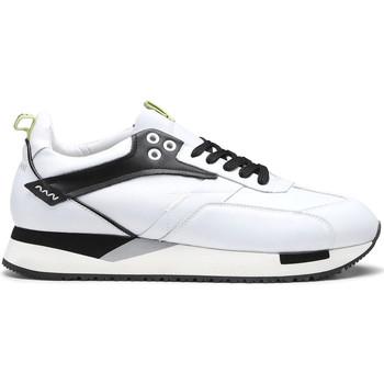 Skor Herr Sneakers Alberto Guardiani AGU101155 Vit