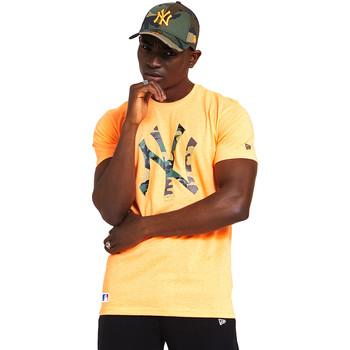 textil Herr T-shirts New-Era 12369840 Orange