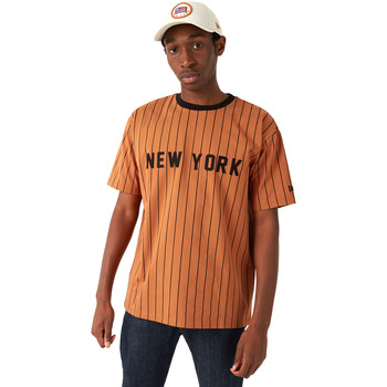 textil Herr T-shirts New-Era 12720111 Brun