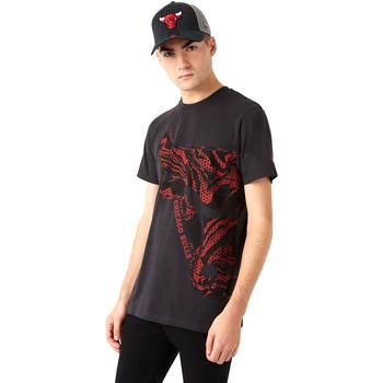 textil Herr T-shirts New-Era 12720127 Svart