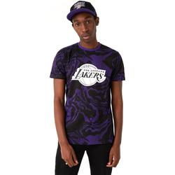 textil Herr T-shirts New-Era 12720128 Svart
