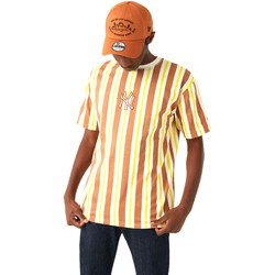 textil Herr T-shirts New-Era 12720144 Brun