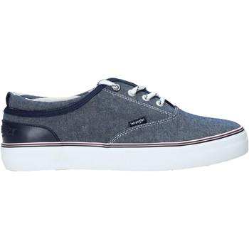 Skor Herr Sneakers Wrangler WM01020A Blå