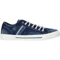 Skor Herr Sneakers Wrangler WM01051A Blå