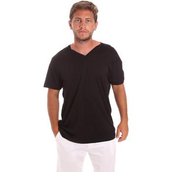 textil Herr T-shirts Colmar 7521 6SS Svart