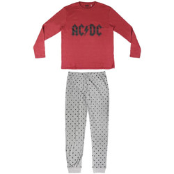 textil Herr Pyjamas/nattlinne Ac/dc 2200004849 Rojo