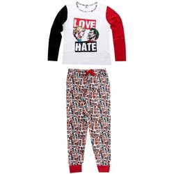 textil Dam Pyjamas/nattlinne Joker 833-438 Blanco