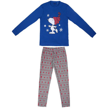 textil Dam Pyjamas/nattlinne Snoopy 2200004851 Azul
