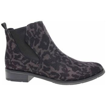 Skor Dam Höga sneakers Marco Tozzi 222532133241 Svarta, Bruna