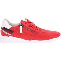 Skor Dam Sneakers Jana 882372826555 Röda