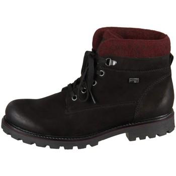 Skor Dam Boots Remonte Dorndorf D747604 Svarta, Rödbrunt