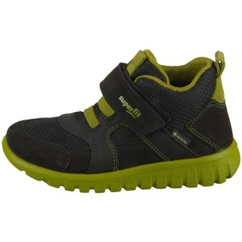 Skor Barn Höga sneakers Superfit SPORT7 Mini Svarta, Oliv