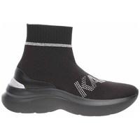 Skor Dam Höga sneakers Karl Lagerfeld KL61855 Svarta