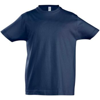 textil Barn T-shirts Sols 11770 Franska flottan