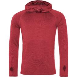 textil Dam Sweatshirts Awdis JC037 Röd melange