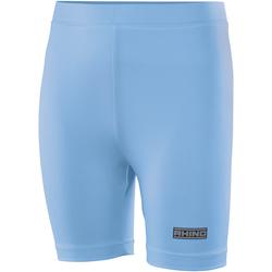 textil Dam Shorts / Bermudas Rhino RH10B Ljusblå
