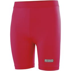 textil Dam Shorts / Bermudas Rhino RH10B Röd
