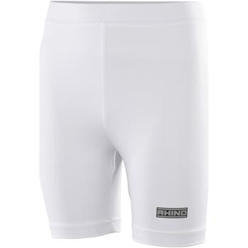 textil Dam Shorts / Bermudas Rhino RH10B Vit