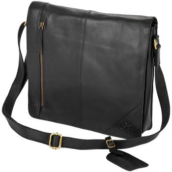 Väskor Pojkar Skolväskor Eastern Counties Leather  Svart