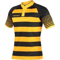 textil Pojkar T-shirts Kooga K106B Svart/guld