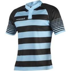 textil Pojkar T-shirts Kooga K106B Svart/Sky