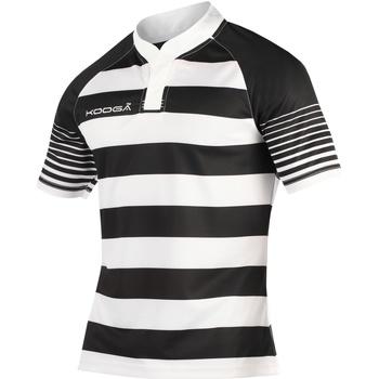 textil Pojkar T-shirts Kooga K106B Svart/vit