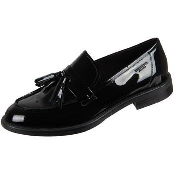 Skor Dam Loafers Vagabond Shoemakers Amina Black Lack Svarta