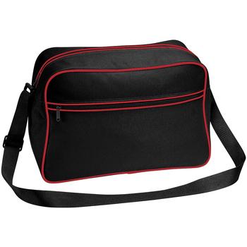Väskor Pojkar Skolväskor Bagbase BG14 Svart/Klassiskt rött