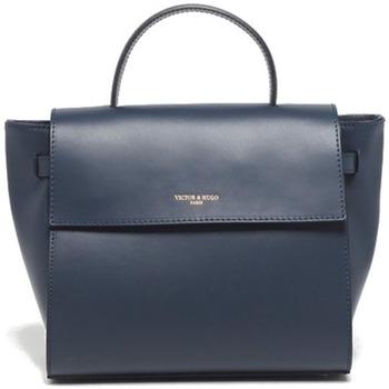 Väskor Dam Handväskor med kort rem Victor & Hugo PRIM BLEU