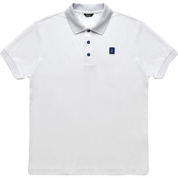 textil Herr Kortärmade pikétröjor Refrigiwear RM0T19001PX9032 Vit