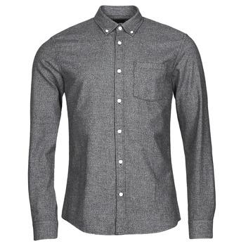 textil Herr Långärmade skjortor Only & Sons  ONSNIKO Grå