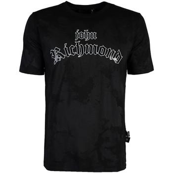 textil Herr T-shirts John Richmond  Svart
