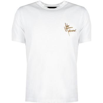 textil Herr T-shirts John Richmond  Vit