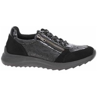 Skor Dam Sneakers Remonte Dorndorf D570102 Svarta, Grafit