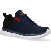 Skor Herr Sneakers Air 58848 blå