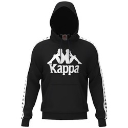 textil Herr Sweatshirts Kappa Hurtado Hooded Svarta