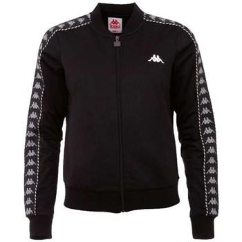textil Dam Sweatshirts Kappa Imilia Training Jacket Svarta
