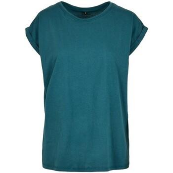 textil Dam T-shirts Build Your Brand Extended Blåkråka