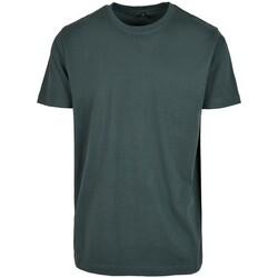 textil Herr T-shirts Build Your Brand BY004 Flaskegrön