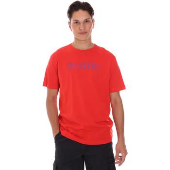 textil Herr T-shirts Invicta 4451242/U Röd