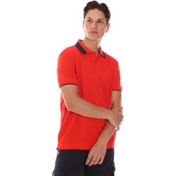 textil Herr Kortärmade pikétröjor Invicta 4452240/U Röd