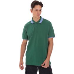textil Herr Kortärmade pikétröjor Invicta 4452240/U Grön