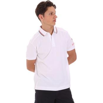 textil Herr Kortärmade pikétröjor Invicta 4452241/U Vit