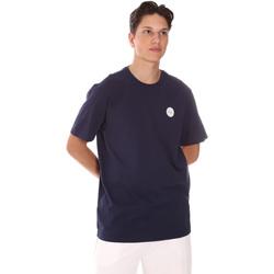 textil Herr T-shirts Fila 689290 Blå
